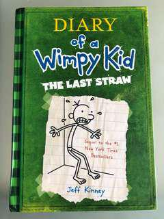 Diary Of A Wimpy Kid - The Last Straw hard cover