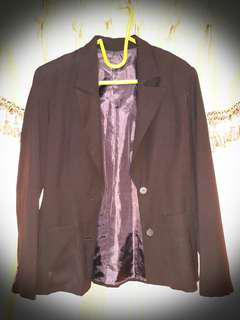 Luxury Woman Blazer Brown Size S-M #Septemberceria #Sale #Gratisongkir
