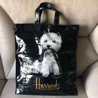 Harrods Westie Puppy Large Shopper Bag