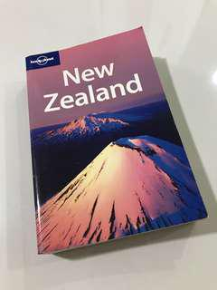 Lonely Planet, Traveller's guide to New Zealand