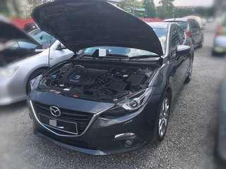 Mazda 3 sedan 2.0 auto tahun 2014 Bulanan 11Xx