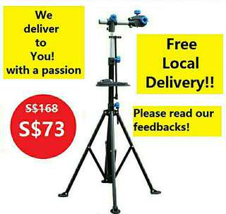 Bike repair stand with free delivery