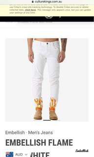 Men's Flame Jeans