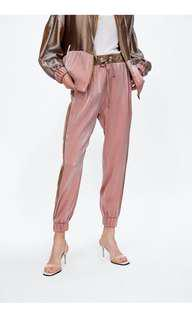 New arrival pink/gold joggers