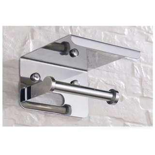 VITA S068 STAINLESS STEEL TOILET PAPER HOLDER (POLISH)