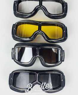 CAFE RACER BOULTER AVIATOR GOGGLES
