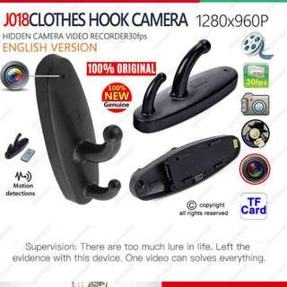 Spy Hidden Mini DV Cam Camera Motion Detect Clothes Hanger Hook 640X480