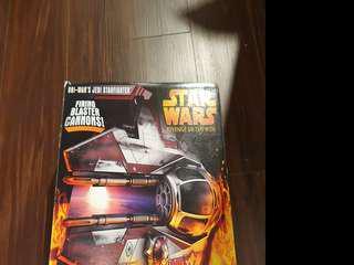 🚚 Star wars obi wan star fighter vehicle