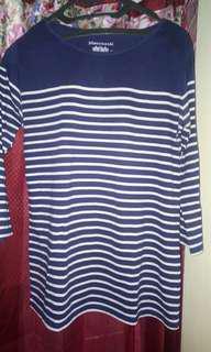 Kaus stripe wanita#MauiphoneX