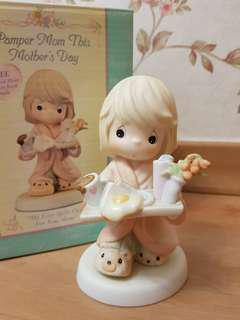 Precious Moments Figurine - My Love Spills Over For You Mum