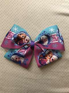 Frozen big hair bow