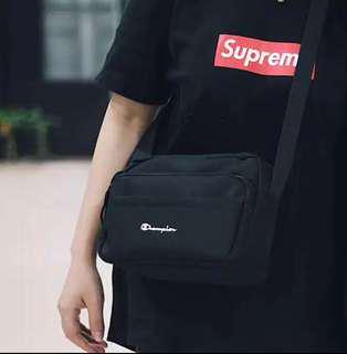 Black Medium Size Champion Sling Bag(Instocks and Brand new)