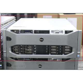 Dell PowerEdge R910 E7-4860 CPU四顆/256G 記憶體/300G硬碟8顆 超高規伺服器 Server