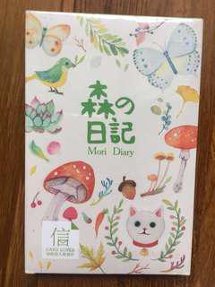 Mori Diary Forest Postcard Set 30 Pieces