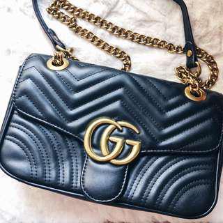 Gucci - GG Marmont Matelassé Shoulder Bag