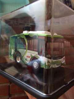 零排放超級電容巴士Q版