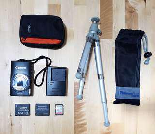 Full set! Powershot Elph 340 HS 16MP 12x zoom (+ 32G SD card and accesories)