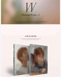INFINITE WOOHYUN 2ND MINI ALBUM - SECOND WRITE..