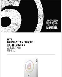 DAY6 EVERYDAY6 FINALE CONCERT