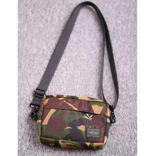 🚚 💥CHEAPEST - Porter Detachable Sling Bag with Carabiner  - Brown Camo