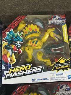 🚚 SALE Jurassic World Hero Mashers Figure