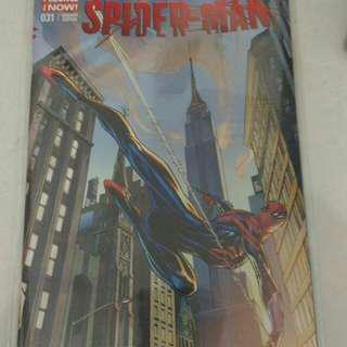 Marvel Spider-man comic variant