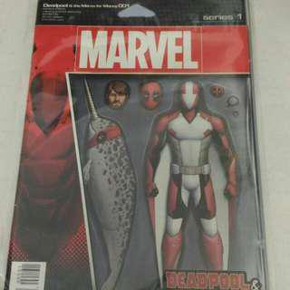 Marvel Deadpool comic variant