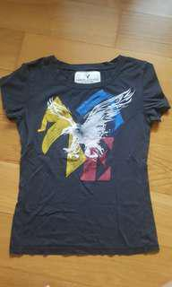 American eagle outfitters grey tee