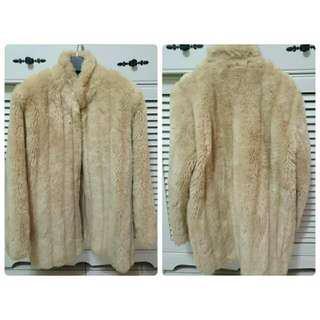 溫暖毛外套