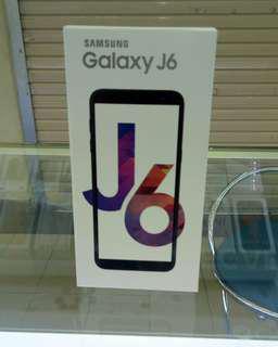 Samsung Galaxy J6 promo cicilan free admin & free 1x angsuran