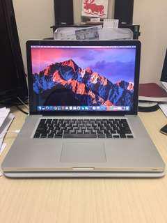 MacBook Pro 15.4-inch, Core i7 2.2ghz, 16GB DDR3,  RAID 0 SSD config