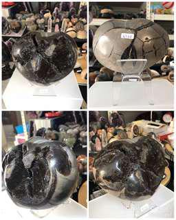 Madagascar Natural  Dragon Septarian Crystal Egg Healing