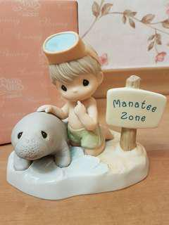 Precious Moments Figurine - Our Love Will Never Be Endangered