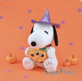 萬聖節版Snoopy 大公仔$100一個