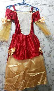 Elizabeth princess costume(4 to 7yrs old)