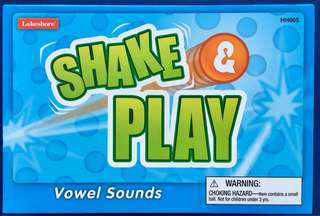 Lakeshore Shake and Play Vowel Sounds