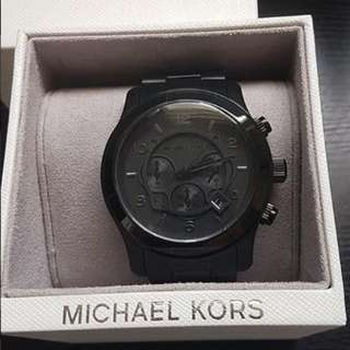 5c814ac80041 Michael Kors Runway Chronograph Blacked Out Men s Watch - MK8157