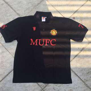 Manutd polo shirt sz M