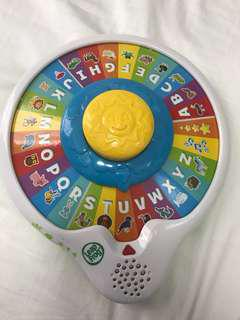 Leap Frog Animal and Alphabets spinning wheel