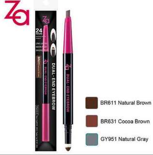 BN ZA Dual-End Waterproof Eyebrow Pencil Liner & Eyebrow
