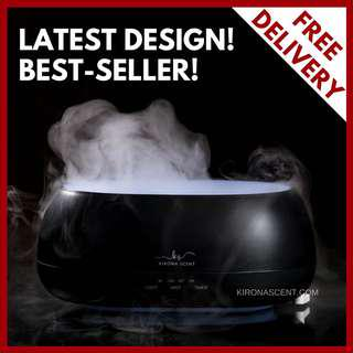 🚚 PREMIUM REMOTE CONTROLLED 500ml Humidifier / Diffuser / Air Purifier with FREE 30ml Essential Oil / 7 LED LIGHTS / AROMATHERAPY