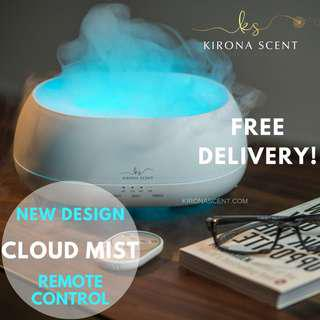 🚚 FREE 30ML ESSENTIAL OIL! FREE DELIVERY! Ultrasonic Humidifier/Aroma Diffuser/Essential Oil Diffuser!