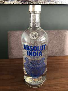 Absolut Vodka (Absolut India) - limited edition