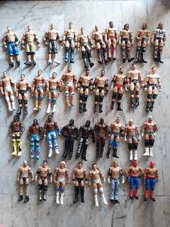 WWE Used Basic Figures $5 each