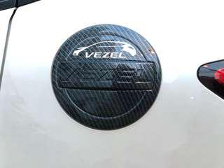 Honda vezel fuel cover carbon fibre