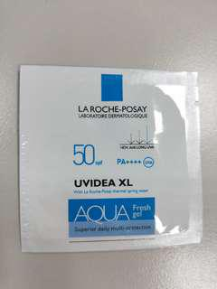 🚚 理膚寶水 試用包 全護水感清透防曬露 UVA PRO 50