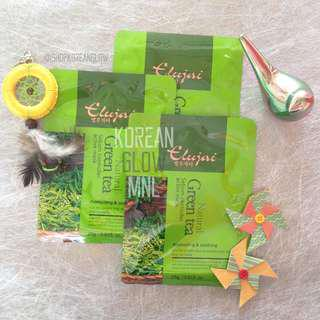 Elujai Natural Mask Green Tea