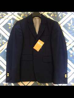 Thom Browne Classic Sport Coat Navy size 0