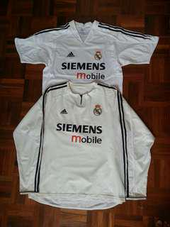 Authentic Real Madrid kit 2003-05
