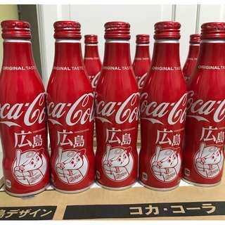 [全新] Coca Cola 可口可樂日本限定2018広島(廣島)紀念鋁樽可樂